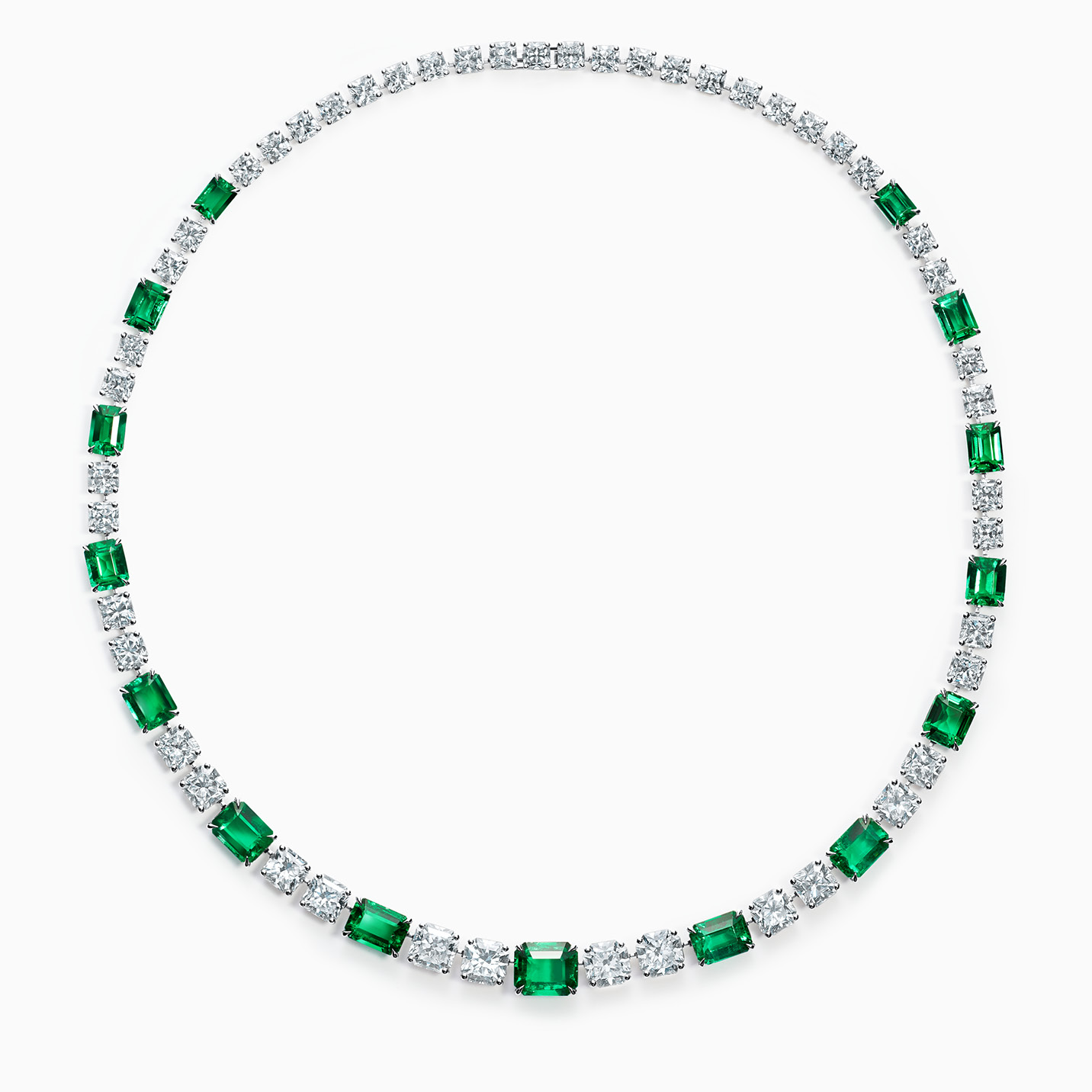 Tiffany & Co. Schlumberger®Leaves Necklace
